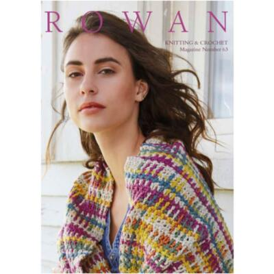 ROWAN knitting and Crochet Magazin 63