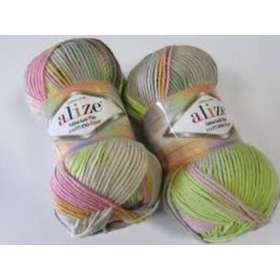 Alize Cotton Gold Plus Multi Color