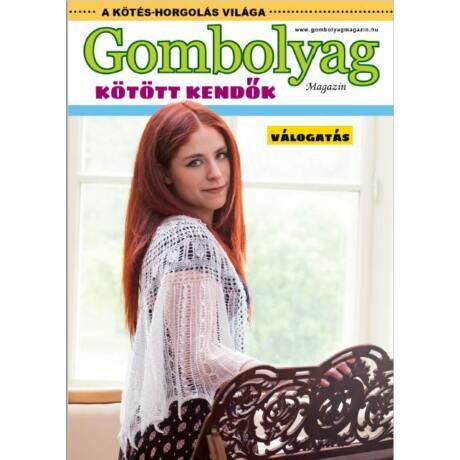 Gombolyag Magazin Válogatás - Kötött kendők 1. (letölthető, digitális termék!)