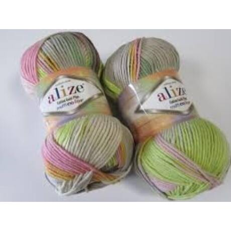 Alize Cotton Gold Plus Multi Color
