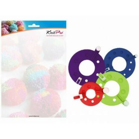 KnitPro pompom készítő szett