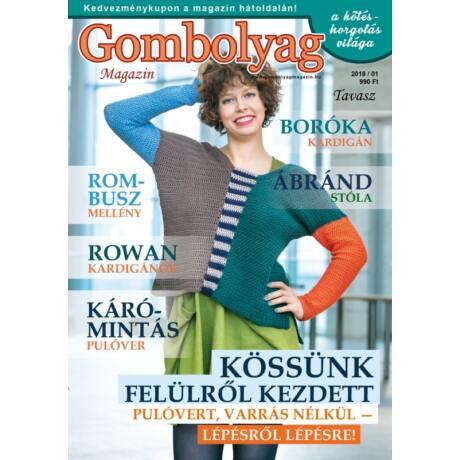 Gombolyag Magazin 2018/01 tavasz