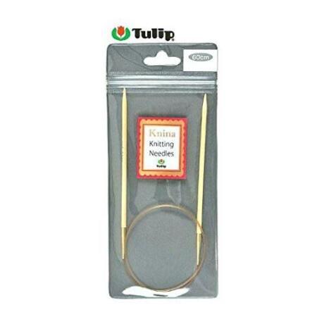 Tulip Knina bambusz körkötőtű 60 cm-es