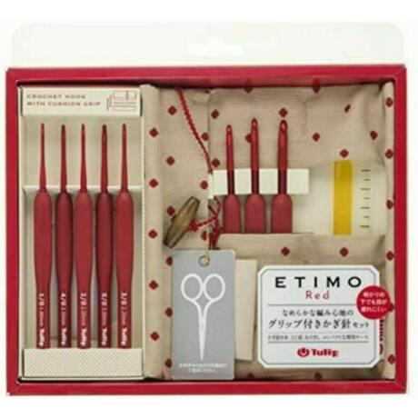 Tulip Etimo Red horgolótű készlet