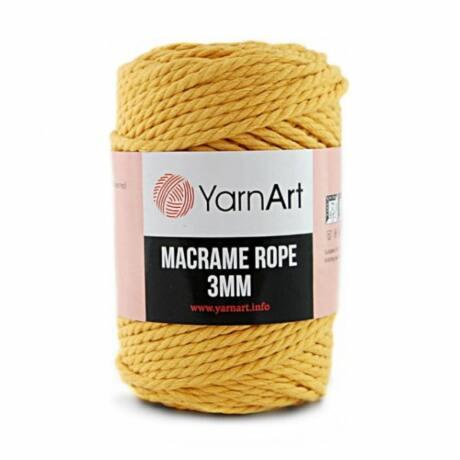 Yarnart Macrame Rope 3 mm (kifésülhető)