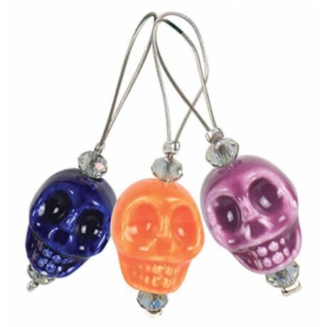 KnitPro Szemjelölő Skull Candy