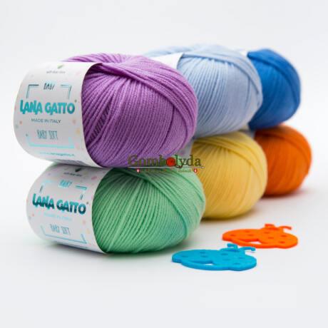 Lana Gatto Baby Soft  - aloe verával