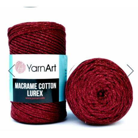 Yarnart Macrame Cotton Lurex